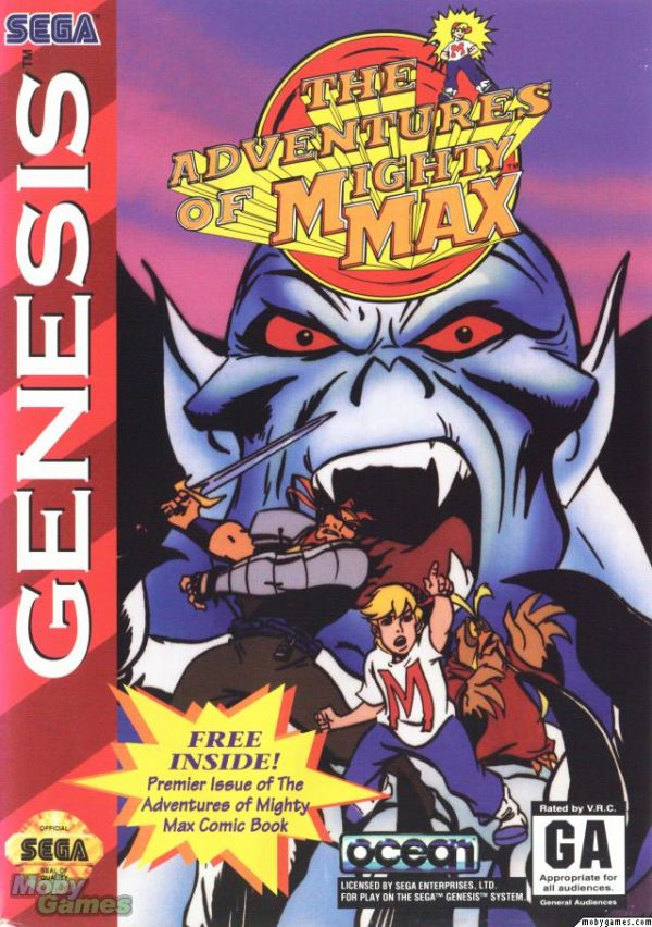 The Adventures of Mighty Max (Genesis/Mega Drive)